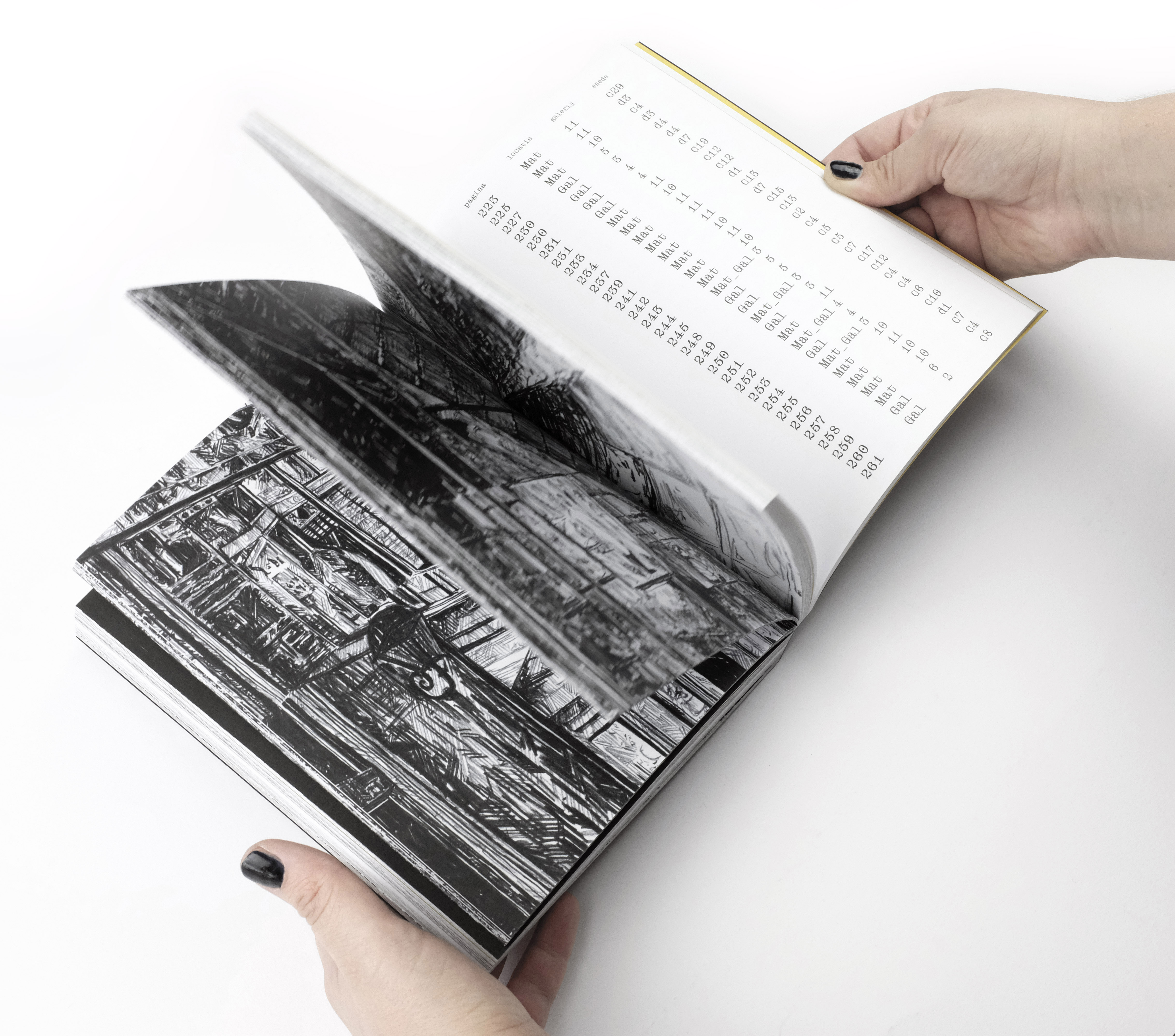 foto boek bladeren